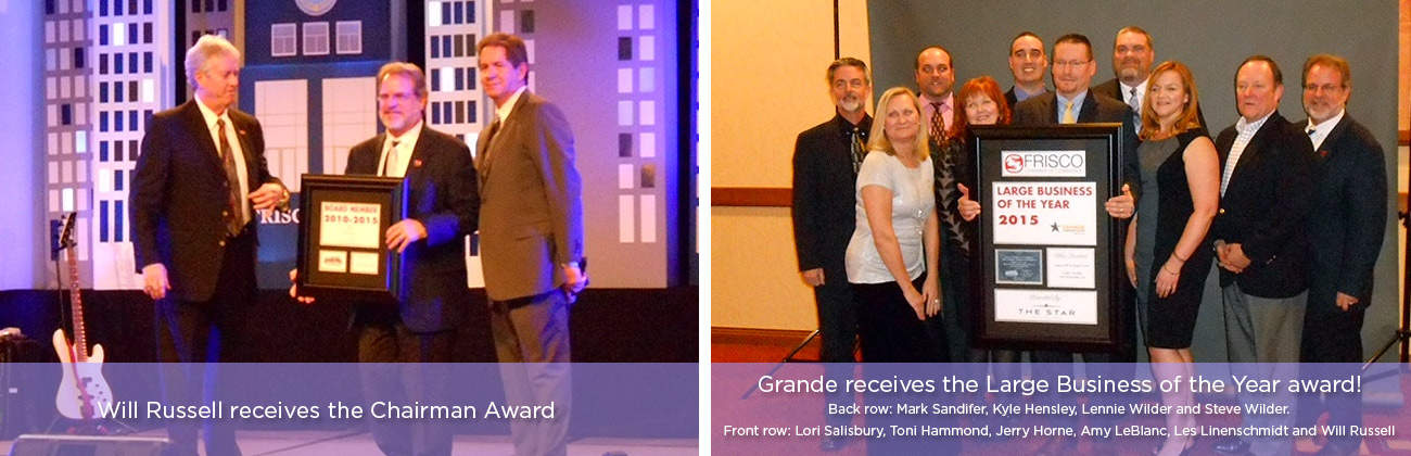 Grande Receives Large Business of the Year Award