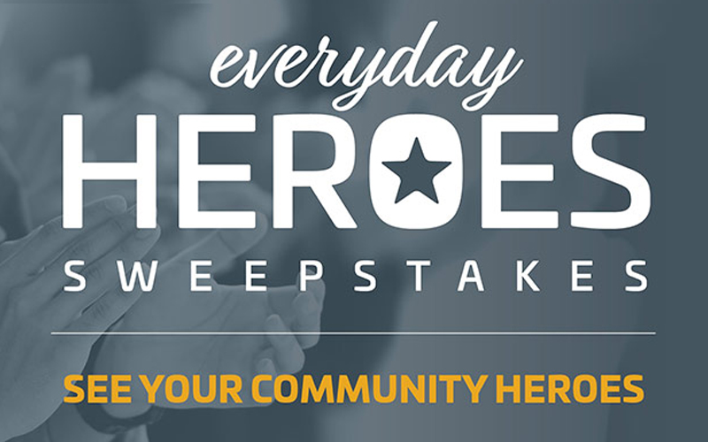 Congratulations to all of our Hero Winners!