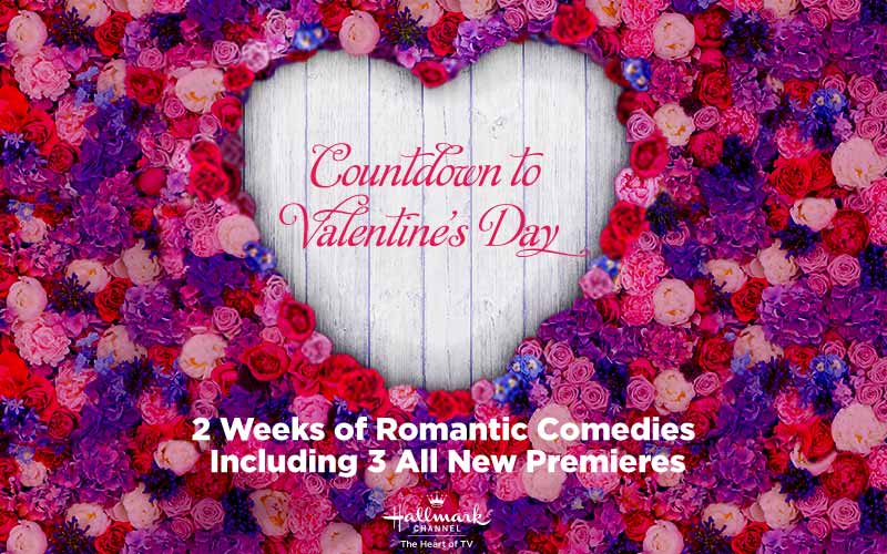 Countdown to Valentine's Day with Hallmark
