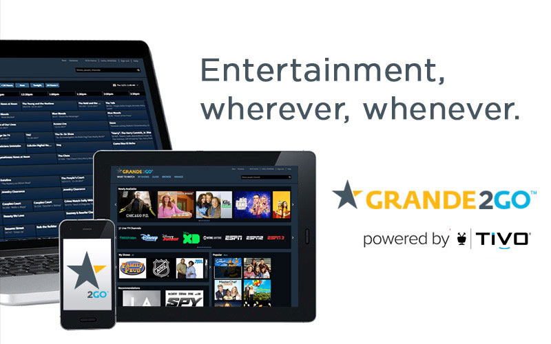 Grande2go Tv On The Go Get The App Today