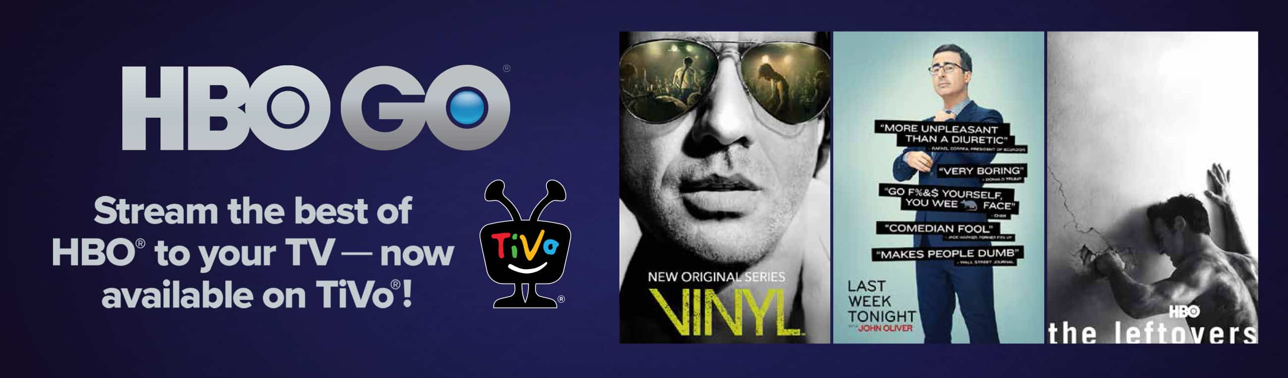 Hbogo Grande Dvr Powered By Tivo Tv On The Go Get The