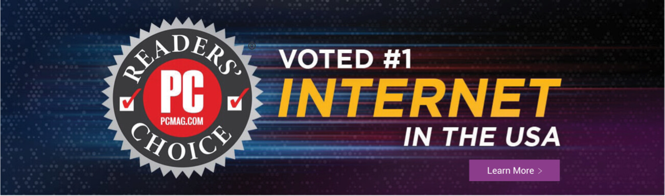 Voted #1 Internet in the USA